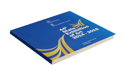44 th State Exhibition of Art-2014-15 catalogue